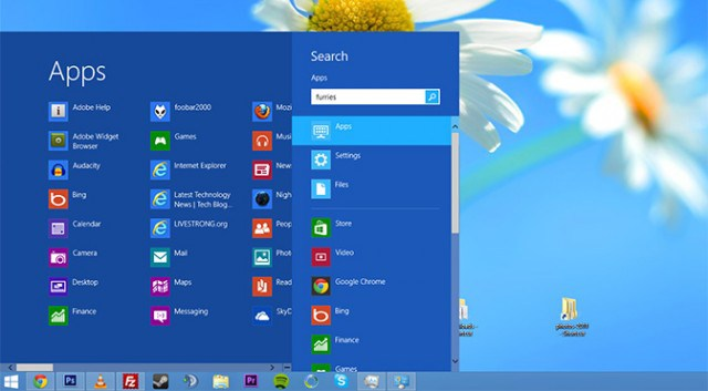 Wat is er veranderd in windows 8 1 quest computers for Windows 8 bureaublad