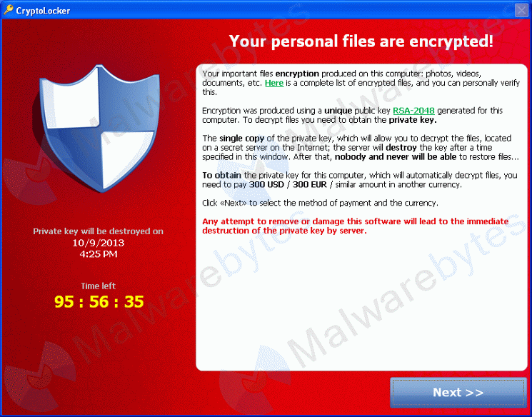 cryptolocker antivirus
