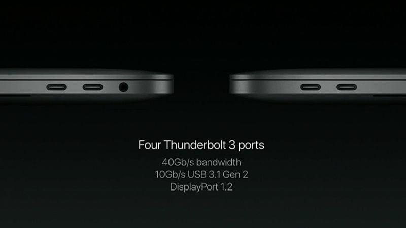 macbook thunderbolt